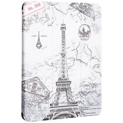 """Чехол-подставка Coblue Case для iPad Pro (11"""") 2020г. кожаный вид №1 Париж"""
