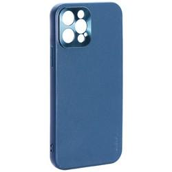 """Чехол-накладка пластиковая GKS Design Creative Case с силиконовыми бортами для iPhone 12 Pro (6.1"""") Зеленый"""