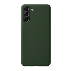 Чехол-накладка силикон Deppa Liquid Silicone Pro Case D-870019 для Samsung S21 Plus Зеленый