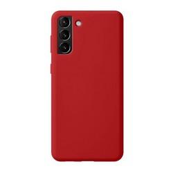 Чехол-накладка силикон Deppa Liquid Silicone Pro Case D-870016 для Samsung S21 Plus Красный