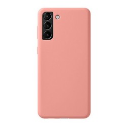 Чехол-накладка силикон Deppa Liquid Silicone Pro Case D-870028 для Samsung S21 Plus Розовый