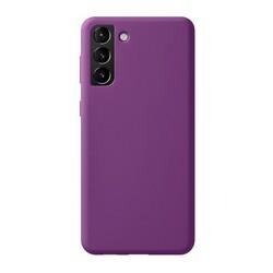 Чехол-накладка силикон Deppa Liquid Silicone Pro Case D-870024 для Samsung S21 Plus Фиолетовый