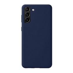 Чехол-накладка силикон Deppa Liquid Silicone Pro Case D-870013 для Samsung S21 Plus Синий