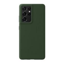 Чехол-накладка силикон Deppa Liquid Silicone Pro Case D-870020 для Samsung S21 Ultra Зеленый