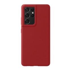 Чехол-накладка силикон Deppa Liquid Silicone Pro Case D-870017 для Samsung S21 Ultra Красный