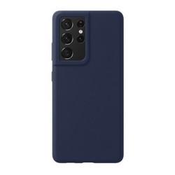 Чехол-накладка силикон Deppa Liquid Silicone Pro Case D-870014 для Samsung S21 Ultra Синий