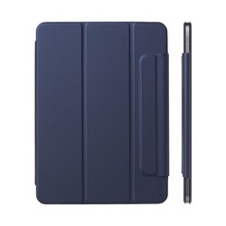 """Чехол-подставка Deppa Wallet Onzo Magnet для iPad Air (10.9"""") 2020г. Soft touch 2.0мм (D-88066) Темно-синий"""