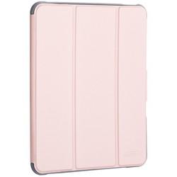 """Чехол-подставка Mutural Folio Case Elegant series для iPad Air (10.9"""") 2020г. кожаный (MT-P-010504) Розовое золото"""