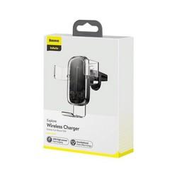 Автомобильное беспроводное Qi зарядное устройство Baseus WXYL-K02 Explore Wireless Charger (5V/2A, 9V/1.7A) Прозрачный