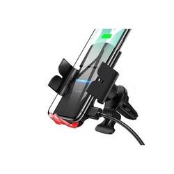 Автомобильное беспроводное Qi зарядное устройство Usams Automatic Coil Induction Wireless Charging Car Holder US-CD133 Черный