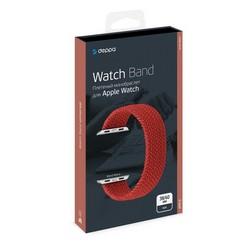 Ремешок нейлоновый Deppa Band Mono D-48109 для Apple Watch 40мм/ 38мм Красный