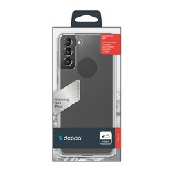 Чехол-накладка силикон Deppa Gel Case D-870001 для Samsung S21 Plus 1.5мм Прозрачный