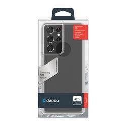 Чехол-накладка силикон Deppa Gel Case D-870002 для Samsung S21 Ultra 1.5мм Прозрачный