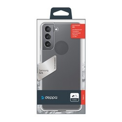 Чехол-накладка силикон Deppa Gel Case D-870000 для Samsung S21 1.5мм Прозрачный