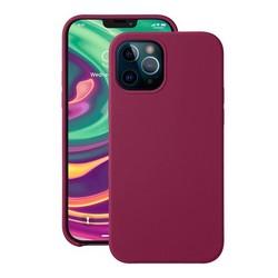 "Чехол-накладка силикон Deppa Liquid Silicone Case D-87783 для iPhone 12/ 12 Pro (6.1"") 1.7мм Бургунди"