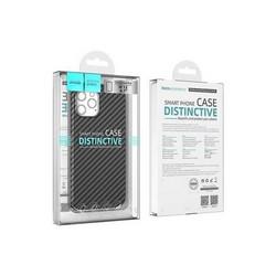 """Чехол силиконовый Hoco Delicate Shadow Series для iPhone 12/ 12 Pro (6.1"""") Черный"""