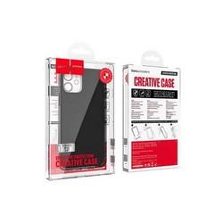 """Чехол силиконовый Hoco Fascination Series ультратонкий для iPhone 12/ 12 Pro (6.1"""") Черный"""