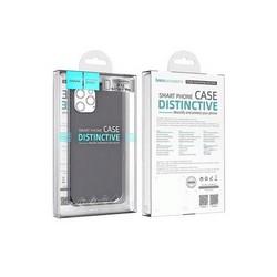 """Чехол пластиковый Hoco Thin Series для iPhone 12/ 12 Pro (6.1"""") Черный"""