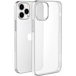 """Чехол силиконовый Hoco Light Series для iPhone 12 Pro Max (6.7"""") Прозрачный"""