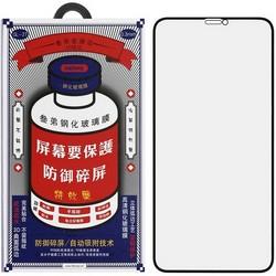 "Стекло защитное Remax 3D (GL-27) Lake Series Твердость 9H для iPhone 12 Pro Max 2020 (6.7"") 0.3mm Black"