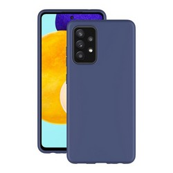 Чехол-накладка силикон Deppa Gel Case D-870076 для Samsung GALAXY A52 (2021) 1.0мм Синий