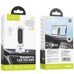 Автомобильный держатель Hoco CA78 Karly center console magnetic car holder магнитный универсальный на панель серебристый
