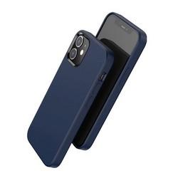 """Чехол пластиковый Hoco Pure series для iPhone 12/ 12 Pro (6.1"""") Синий"""