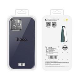 "Чехол пластиковый Hoco Pure series для iPhone 12 Pro Max (6.7"") Синий"