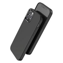 """Чехол пластиковый Hoco Pure series для iPhone 12 Pro Max (6.7"""") Черный"""
