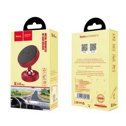 Автомобильный держатель Hoco CA36 Plus Dashboard metal magnetic in-car holder магнитный универсальный красный