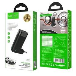 Адаптер Hoco E53 Dawn sound in-car AUX беспроводной приемник для автомобиля Черный