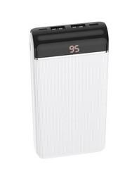 Аккумулятор внешний универсальный Hoco J59A 20000 mAh Famous mobile power bank (2USB:5V-2.0A Max) Белый