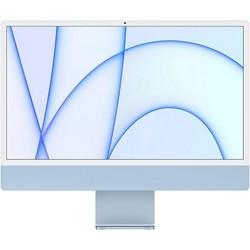 """Apple iMac 24"""" Retina 4,5K 2021 MGPK3RU (M1, 8C CPU, 8C GPU, 8Gb, 256Gb SSD, синий)"""