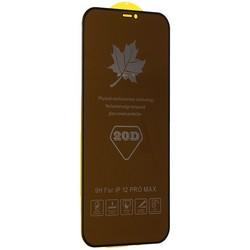 "Стекло защитное MItrifON 5D Privacy Series Антишпион Твердость 9H для iPhone 12 Pro Max (6.7"") Black"
