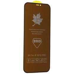 "Стекло защитное MItrifON 5D Privacy Series Антишпион Твердость 9H для iPhone 12/ 12 Pro (6.1"") Black"