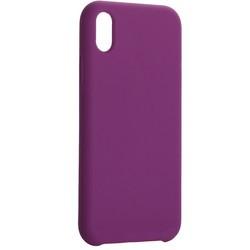 """Накладка силиконовая MItrifON для iPhone XR (6.1"""") без логотипа Violet Фиолетовый №45"""