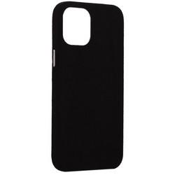 "Накладка бархатная MItrifON для iPhone 12 Pro Max (6.7"") без логотипа Черная"