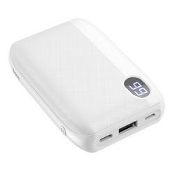 Аккумулятор внешний универсальный Hoco J53 10000 mAh Exceptional mobile power bank (2USB:5V-2.0A Max) Белый