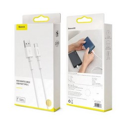 USB дата-кабель Baseus Mini cable for Type-C 3A (CATSW-02) (1.0 м) Белый
