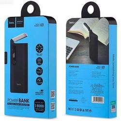 Аккумулятор внешний универсальный Hoco B27-15000 mAh Pusi Power Bank (2USB: 5V-2.0A) Черный