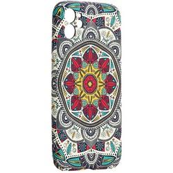 "Чехол-накладка силикон Luxo для iPhone 11 (6.1"") 0.8мм с флуоресцентным рисунком KAWS J82"
