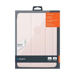 "Чехол-подставка Deppa Wallet Onzo Magnet для iPad Pro (12.9"") 2020-2021г.г. Soft touch 2.0мм (D-88079) Розовый"