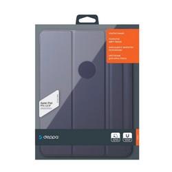 """Чехол-подставка Deppa Wallet Onzo Magnet для iPad Pro (12.9"""") 2020-2021г.г. Soft touch 2.0мм (D-88077) Темно-синий"""