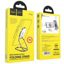 Держатель настольный Hoco Emma metal multifunctional folding Stand (PH36) для смартфонов Графитовый