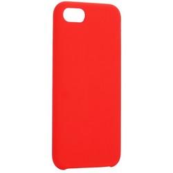 """Накладка силиконовая MItrifON для iPhone SE (2020г.)/8/ 7 (4.7"""") без логотипа Red Красный №14"""