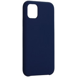 "Накладка силиконовая MItrifON для iPhone 11 (6.1"") без логотипа Ультрамарин №63"