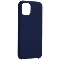 "Накладка силиконовая MItrifON для iPhone 11 Pro (5.8"") без логотипа Ультрамарин №63"