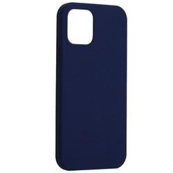 "Накладка силиконовая MItrifON для iPhone 12/ 12 Pro (6.1"") без логотипа Ультрамарин №63"