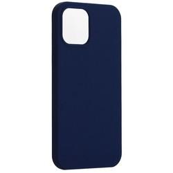 "Накладка силиконовая MItrifON для iPhone 12 Pro Max (6.7"") без логотипа Ультрамарин №63"