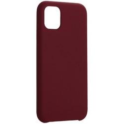 "Накладка силиконовая MItrifON для iPhone 11 (6.1"") без логотипа Бургунди №67"